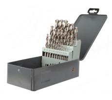 Coffret métal de 25 pièces HSS meule pro DIAGER - Ø1 à 13 - 747D