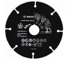 Disque carbure Carbide Multi Wheel BOSCH - Ø76 mm pour Meuleuse d'angle GWS 10,8-76 V-EC - 2608623011