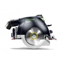 Scie circulaire FESTOOL à capot basculant HK 55 - 1200W Ø160mm + Rail de guidage - 574673