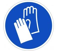 Disque VISO - Obligation de porter des gants - Diam 300 mm - DPO32