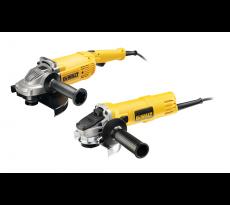 Duo de meuleuse DEWALT 230mm 2200W (DWE492) + 125mm 900W (DWE4157) - DWE492TWIN2