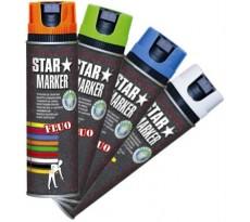Traceur de chantier AMPERE Star Marker fluo - 4030