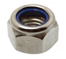 Boite de 100 écrous hexagonaux ACTON indesserrable avec bague nylon - Ø 12 mm - 6260212