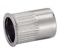 Écrou cranté à sertir ACTON tête affleurante inox A2 - Ø5 mm - Boite de 100 - 626335