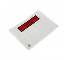 """Pochettes adhésives porte-document imprimées """"documents ci-inclus"""" BBA - 150 x 110 mm - 1000 pièces - 264611DC"""
