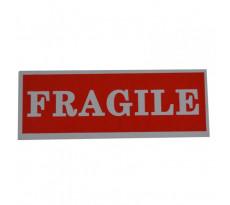 Étiquette Fragile BBA - 40 x 110 mm - rouleau de 1000 - 25TS0801