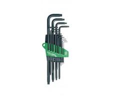 Jeu de 13 clés Torx Prostrar T5 à T50 WIHA avec étui - 24852