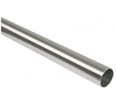 Tube inox 304 poli Ø40mm DUVAL BILCOCQ ép.1,5mm x Lg.2,50m PR - 22-0620-4425
