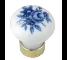 Bouton de crémone porcelaine MERIGOUS - QPE08100