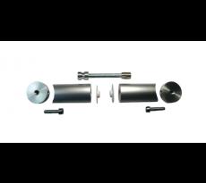 Tube inox 316 poli Ø40 mm Épais.1.5 mm L.2.50M  pour poignée de tirage - 186