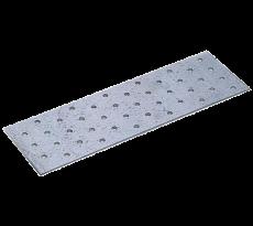 Plaque perforée 80 x 240 mm WAELBERS - Épais. 2mm - 476214.11