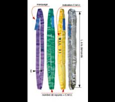 Elingue ronde LEVAC - L. utile - CMU - Coef.utile 7:1 - 4428
