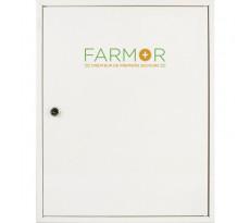 Armoire à pharmacie blanche avec clé FARMOR - ARM 4001 MV