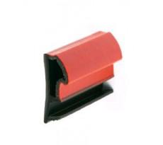 Joint pose sur ouvrant KISO - rainure 4mm - Feuillure 12 mm - 250M - DP 412 TPE Noir