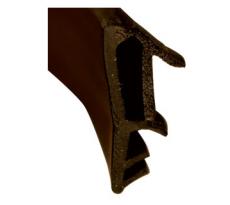 Joint pose sur ouvrant KISO - rainure 4mm - Feuillure 12 mm - 180M - SP 412 F Brun