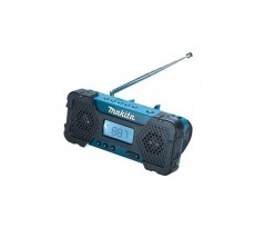 Radio de chantier MAKITA à batterie Li-Ion 10,8 V 1,3 Ah - Sans batterie, ni chargeur - STEXMR051