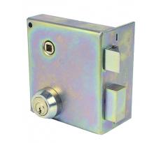 Serrure en applique monopoint JPM - verticale à fouillot - cylindre 50 mm - 900400