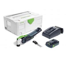 Outil oscillant OSC 18 Li 3,1 E-Compact VECTURO FESTOOL - en systainer - batterie + chargeur - 575385