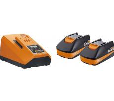 Set de démarrage FEIN 18V 2 batteries 3.0Ah + chargeur - 92604324010