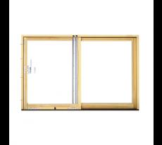 Système de porte coulissante Portal série HS - SIEGENIA - chassis bois - SIE0001