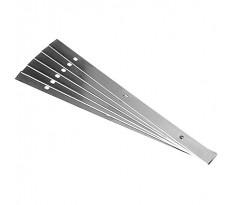 Lot de 6 Couteaux réversible FESTOOL RN-PL 19x1x245 Tri. - 769546