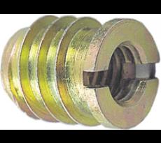 Ecrou à visser QDCR laiton - A collerette
