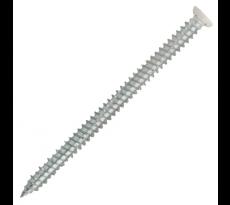 Vis béton à fixation directe Ø 7.5 mm SCELL-IT - Tête fraisée laquée blanc - VFD-F