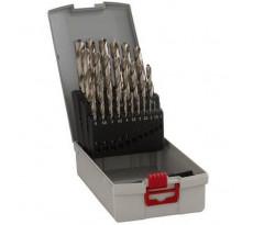 Set de 25 forets à métaux BOSCH - Point TeqQ - Ø1 à 13mm - 2608577352