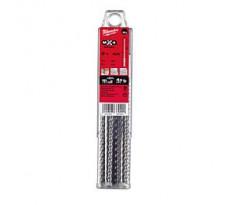 Pack de 10 forets SDS-Plus MX4 MILWAUKEE - 4932352049
