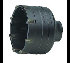 Trépan carbure - Porte-trépan pour perforateur/perceuse SDS-Plus - 326-328