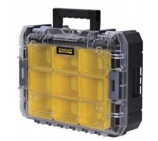Mallette-organiseur Tsak Fatmax STANLEY - 7 compartiments - 6.3 L - FMST1-71970