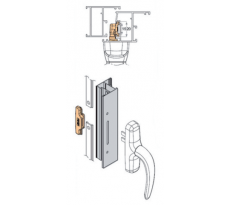 Accessoires pour système oscillo-battant GALIPLUS FAPIM
