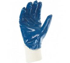 Gant tout enduit support molleton 100% coton SINGER - Manutention lourde milieu humide - Taille 10 - NBR32703