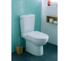 Pack WC au sol GEBERIT Prima - Multi réservoir et abattant standard -  08324300000201