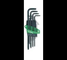 Jeu de 13 clés torx prostrar avec étui -  T-5 à T-50 - WIHA - 24852