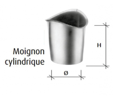 MOIGNON CYLINDRIQUE NATUREL NF    D.100MM HT.85MM