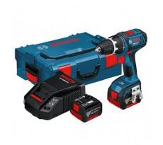 LOT BOSCH Perceuse visseuse GSR 14,4 V-Li 1,5 Ah + 39 accessoires + 2 batteries 1,5Ah en L-Boxx - 0615990EZ3