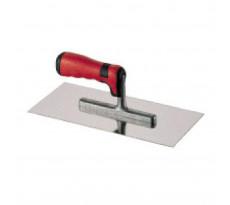 Platoir métal inox HEKA - poignée gainée - 140x280 mm - 013154