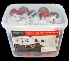Set TurnFix HEKA - 50 acpuchons + 50 pivots filetés - 014733