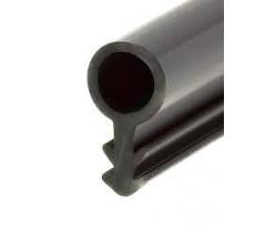 Joint tubulaire S357 / S347 PVC Noir KISO - Rainure 3mm - S357-S347