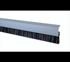 Profil alu anodisé avec brosse IDS-B ELTON - Fixation invisible - 3.00 mL + 3 boîtes d'accessoires - 305