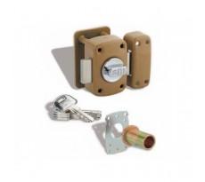 Verrou Transit THIRARD - cylindre double 45 mm - 4 clés - 98620