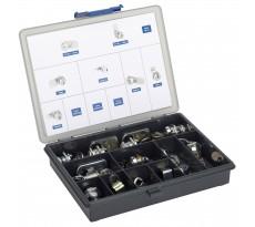 Kit RONIS Assortiment de serrure de boites aux lettres - 23 éléments - 1236