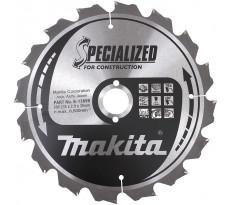 Lot de 2 lames de scie circulaire MAKITA Ø235mm - 16 dents - B-49258
