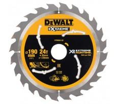 Lame scie circulaire 190x30 mm 24 dents DEWALT - XR Extreme Runtime DT99562