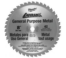 Lame de scie circulaire métal 203 mm 42 dents MILWAUKEE - 48404515