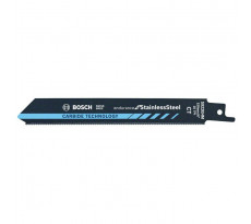 Lame de scie sabre BOSCH Spéciale Acier inoxydable - 150 mm - 2608653097