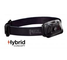 Lampe frontale PETZL Tactikka - Noire - Avec bandeau - Compatible batterie rechargeable - E93ACA