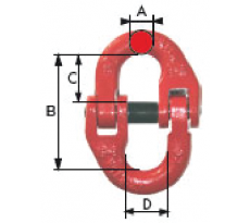 Maillon d'assemblage LEVAC pour élingue chaîne - 518