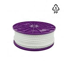 Cordage en polypropylène VISO - blanc - Ø8 mm - vendu au mètre - CBL085